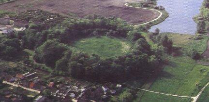 Der Burgwall von Garz (Gardec)